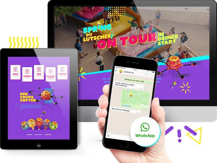 Macaw lässt Lieferdrohne für ChupaChups auf der gamescom fliegen