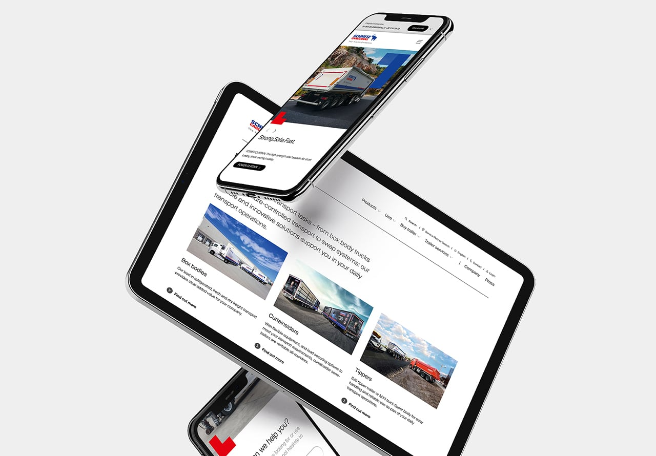 Schmitz Cargobull Website