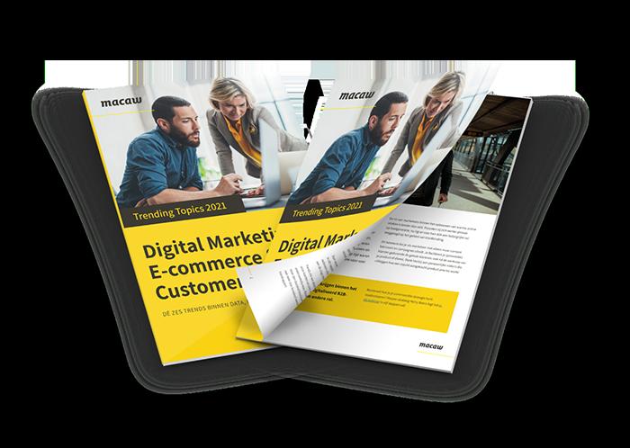 trendrapport digital marketing en sales